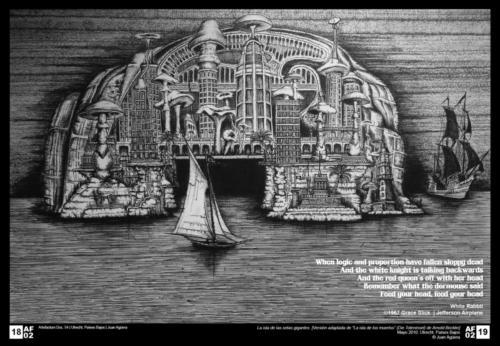 Isla de las setas gigantes
