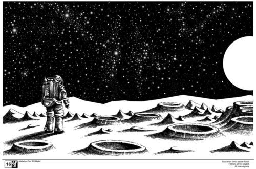 Buscando lunas desde lunas